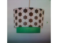 Football themed ceiling lampshade