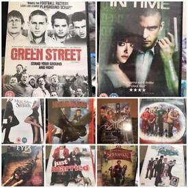 Set of 10 DVDs