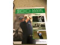 Book- Golf- 100 magic moments