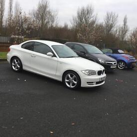 BMW 120D SE 2 SALOON WHITE FULL SERVICE HISTORY MOTED HEATED SEATS ALLOY WHEELS