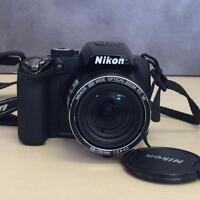 Nikon Coolpix P90 12.1MP Digital Camera with 24x and 3 inch Tilt LCD Screen