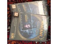 New Sealed WOW Game Cards x2