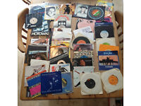 "Over 100 records/vinyl (7"" & 12"") £50"
