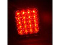 2 x 20 LED REAR TAIL OR INDICATOR LIGHTS 12V 24V TRUCK TRAILER CARAVAN MOTORHOME
