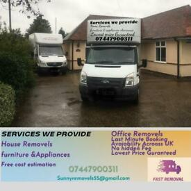 CHEAP REMOVAL 24/7 MAN AND VAN SERVICE HOUSE, OFFICE,FLAT, APPLIANCES AND FURNITURE REMOVA
