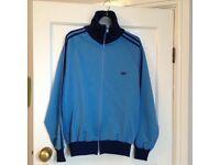 Vintage Adidas blue jacket