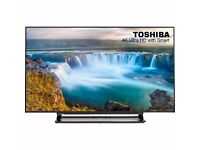 Brand New Boxed Toshiba 48U7653DB 4K ULTRA HD 3D SMART LED TV 48 INCH WITH BUILT IN WIFI
