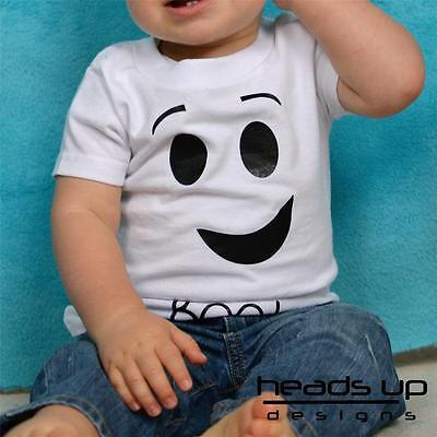 Ghost Shirt Ghost Halloween Costume Boy Girl Baby Newborn Bodysuit Adult Toddler - Toddler Ghost Halloween Costumes