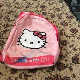 Hello kitty girls backpack/bag