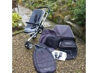 Quinny Buzz 3 pushchair with accessories