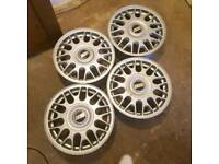 "15"" 4 Spoke BBS Wheel Alloys. In mint condition unused gift"