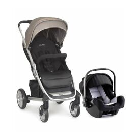 Nuna Tavo travel system including Pipa car seat and isofix base