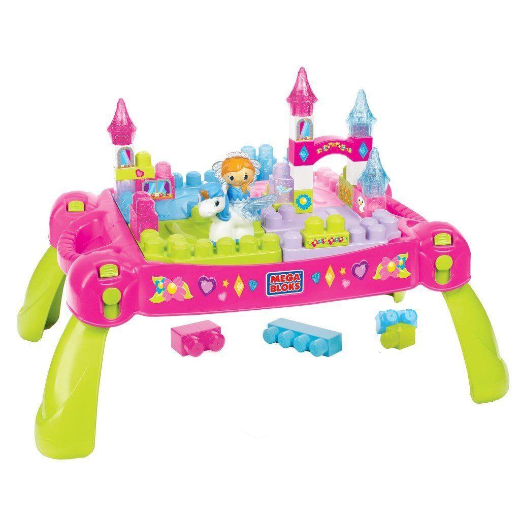 Megabloks fairytale building table (in box)