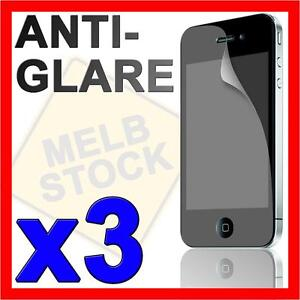 3-x-Matte-Anti-Glare-LCD-Screen-Protector-for-Apple-iPhone-4S-4G-4-Guard-Film