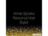 Professional mobile hairstylist, fully qualified in all aspects of hairdressing.