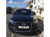 Audi Q7 3.0 TDI S Line Quattro, SUV, 7 seater, very good condition, reluctant sale due to illness