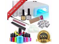 Brand New CCO Gel Nail Kit Professional UV LED Set With 36w UV Nail Lamp
