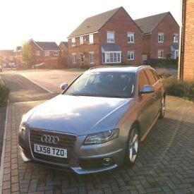 Audi A4 Avant B8 2.0TDI - Quartz Grey