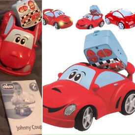 Chicco Johnny Coupe Radio Control Car. Kids Toys