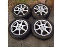 citroen saxo,peugeot 106,206,ford fiesta,escort,focus,puma wolfrace wheels,£130