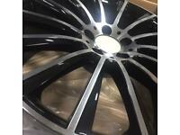 20 inch Mercedes Amg style alloy wheels c e s class e63 s63