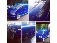 VW T4 transporter, camper van, Volkswagen, twin slider, vgc, £5500ono PX offered for T5 or Caddy