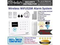Wireless WiFi+GSM Alarm System