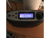 Roberts Classic DAB2 DAB Portable Radio - Black