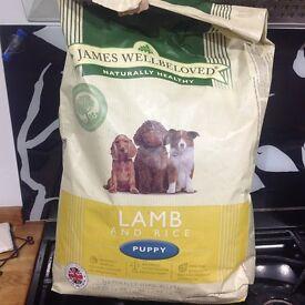 Puppy food James Wellbeloved Lamb & Rice 7.5 KG