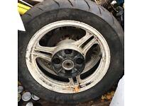 GPZ 550 wheels