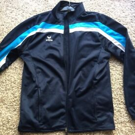 ERIMA mens new sports jacket track top size Medium !