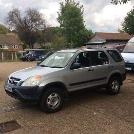Honda CR-V I-VTEC SE kids no longer need mums taxi