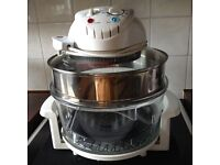 GREAT BARGAIN-HALOGEN OVEN & ACCESSORIES