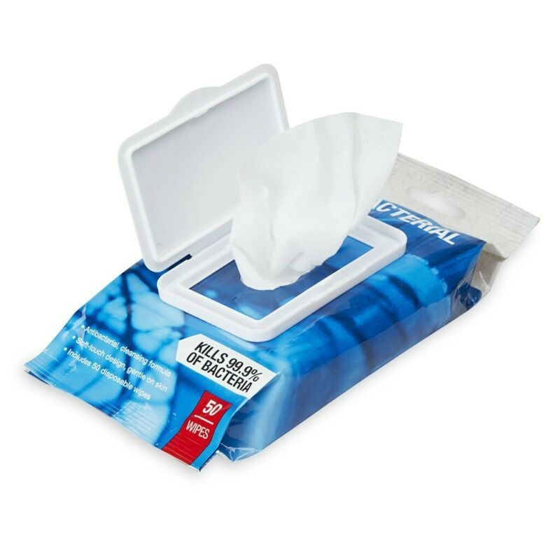 """SPRI Antibacterial Wipes """"14 packs"""" """"700 Wipes"""""""