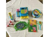 Peppa Pig Toy collection.