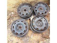 Golf steel wheels