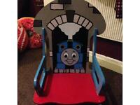 Thomas wooden rocking chair