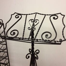 IRON DISPLAY MENU STAND, bespoke and truly sophisticat