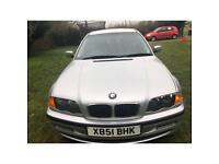 BMW 318i 1.9L 5 Door Saloon Petrol Manual 2001
