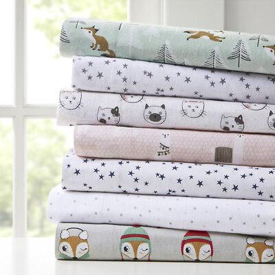 Intelligent Design Cozy Soft Cotton Novelty Print Flannel Sh