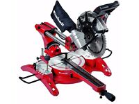 Einhell TH-SM 2534 2350W 230V Sliding Crosscut Double Bevel Mitre Saw w/ Laser, RRP £220!