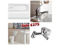 Bathroom Suite £275*