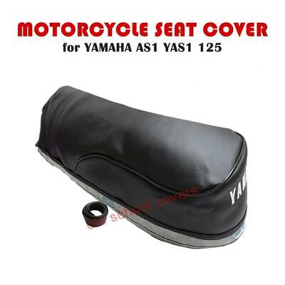 MOTORCYCLE SEAT COVER YAMAHA AS1 YAS1 AS 1 125  & STRAP