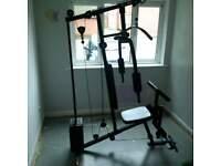 selling argos home gym kit!! 25kg +