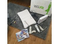 Wii fit and accessories and games