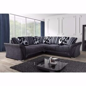 HOME IS HEART CHRISTMAS SALE * * BRAND NEW CORNER SOFAS OR 3+2 SEATER SOFA SETS **** FREE DELIVERY *