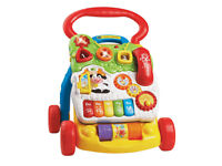 VTech First Steps Lights & Sounds Baby Walkerw with Phone