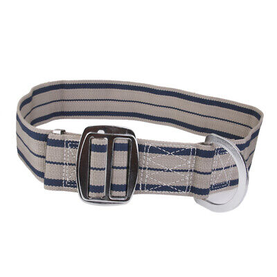 Fall Protection Outdoor Mountaineering Rock Tree Climbing Safety Belt Grey