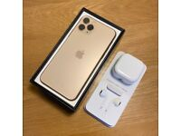 iPhone 11 Pro Gold **Less than 4 Months Old** 100% Battery Health - Unlocked - Apple Warranty