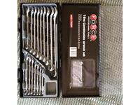 16pc force wrench set BRAND NEW £40 o.n.o
